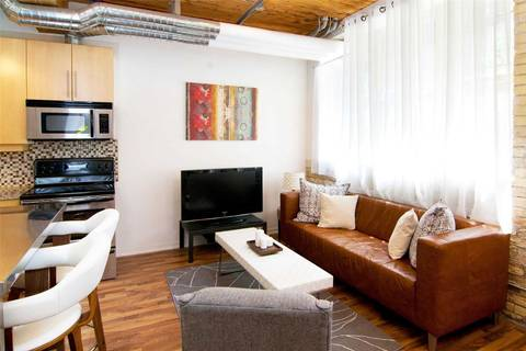 Apartment for rent at 736 Dundas St Unit #106 Toronto Ontario - MLS: C4700015