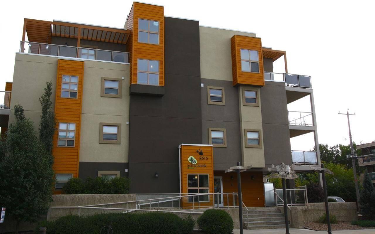 Condo for sale at 8515 99 St Nw Unit 106 Edmonton Alberta - MLS: E4171019