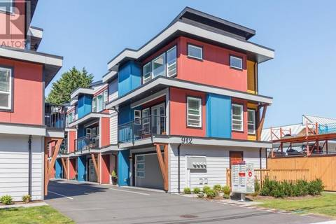 Townhouse for sale at 912 Jenkins Ave Unit 106 Victoria British Columbia - MLS: 412954