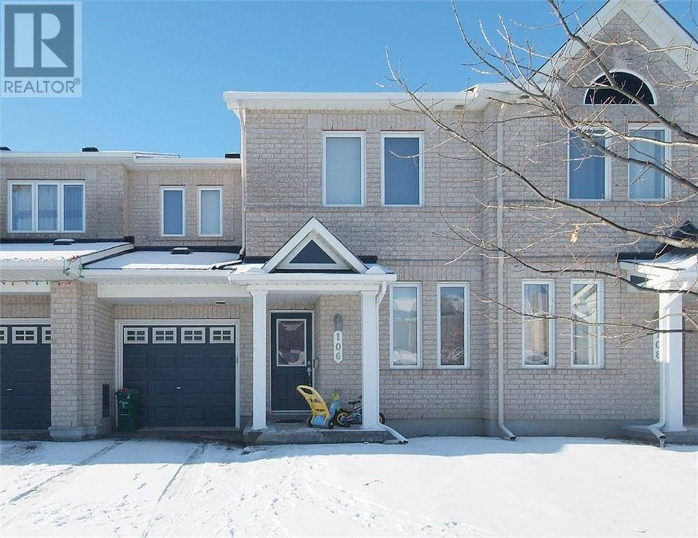 Townhouse for rent at 106 Akita Wk Ottawa Ontario - MLS: 1178904