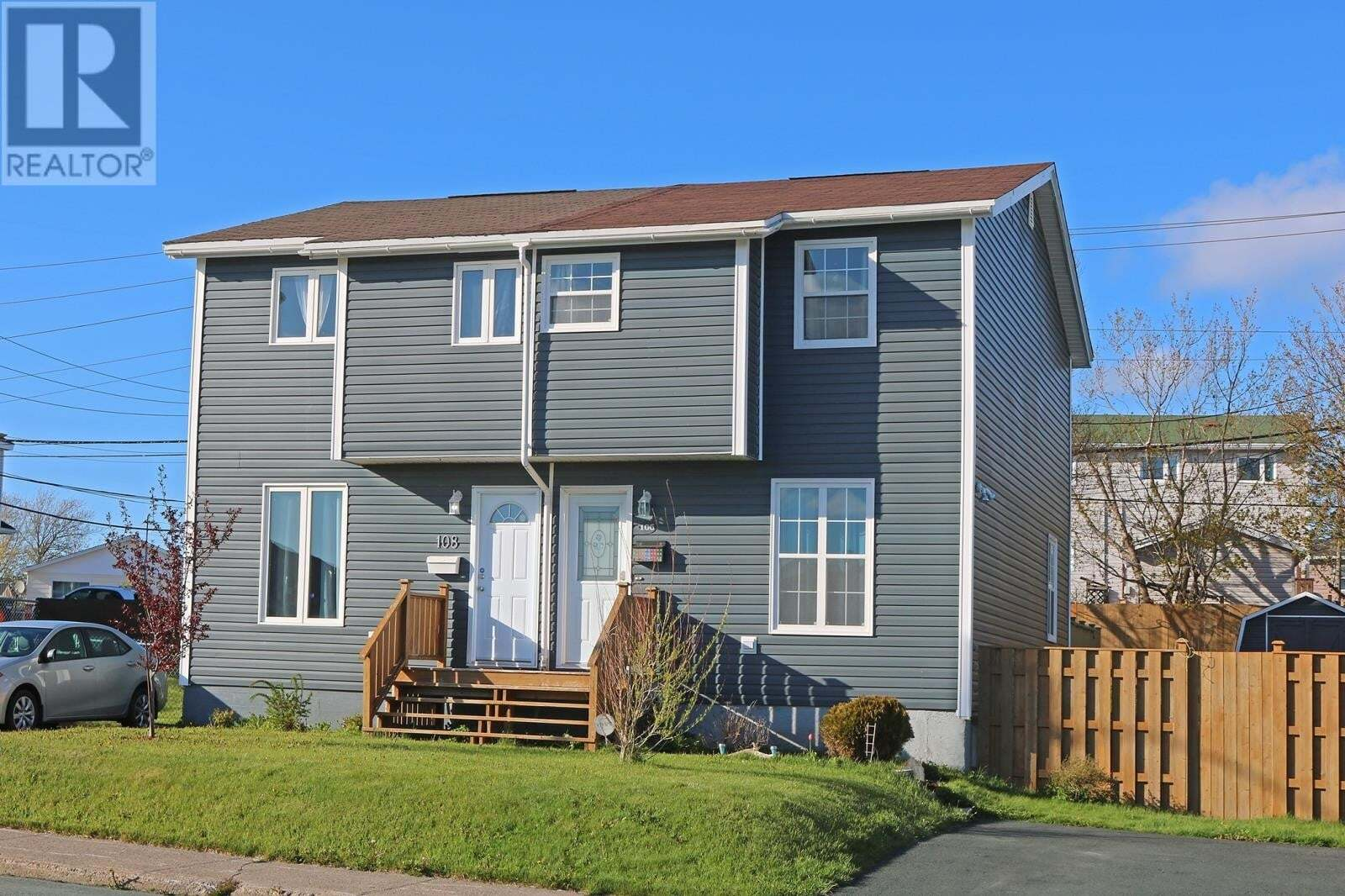 House for sale at 106 Glenview Te St. John's Newfoundland - MLS: 1214716