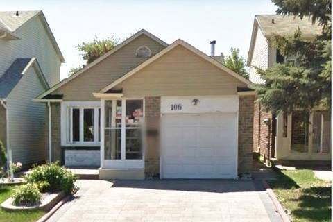 House for sale at 106 Grenbeck Dr Toronto Ontario - MLS: E4446089