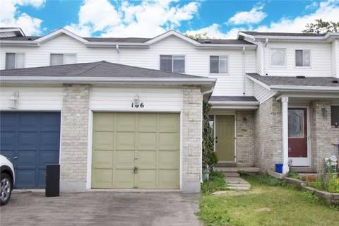 Townhouse for sale at 106 Mcmann Cres Clarington Ontario - MLS: E4527489