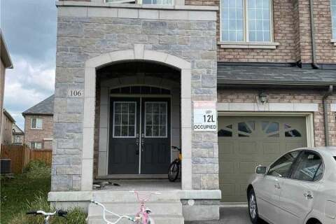 Townhouse for rent at 106 Memon Pl Markham Ontario - MLS: N4861654