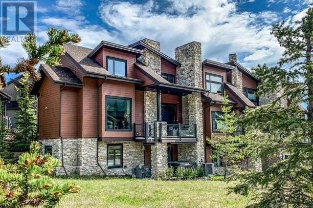 Townhouse for sale at 106 Riva Ct Canmore Alberta - MLS: 52641