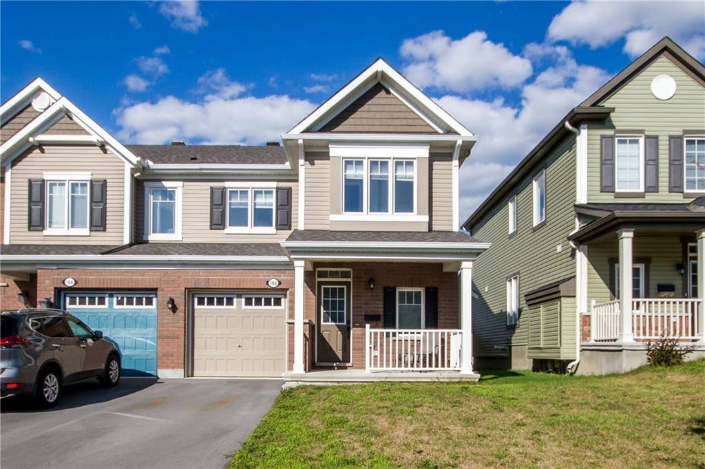Townhouse for sale at 106 Santolina St Ottawa Ontario - MLS: 1165496