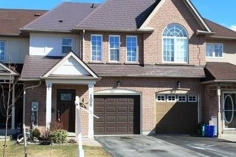 Townhouse for rent at 106 Stokely Cres Whitby Ontario - MLS: E4517068