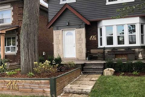 House for rent at 106 Weir St Hamilton Ontario - MLS: X4600303