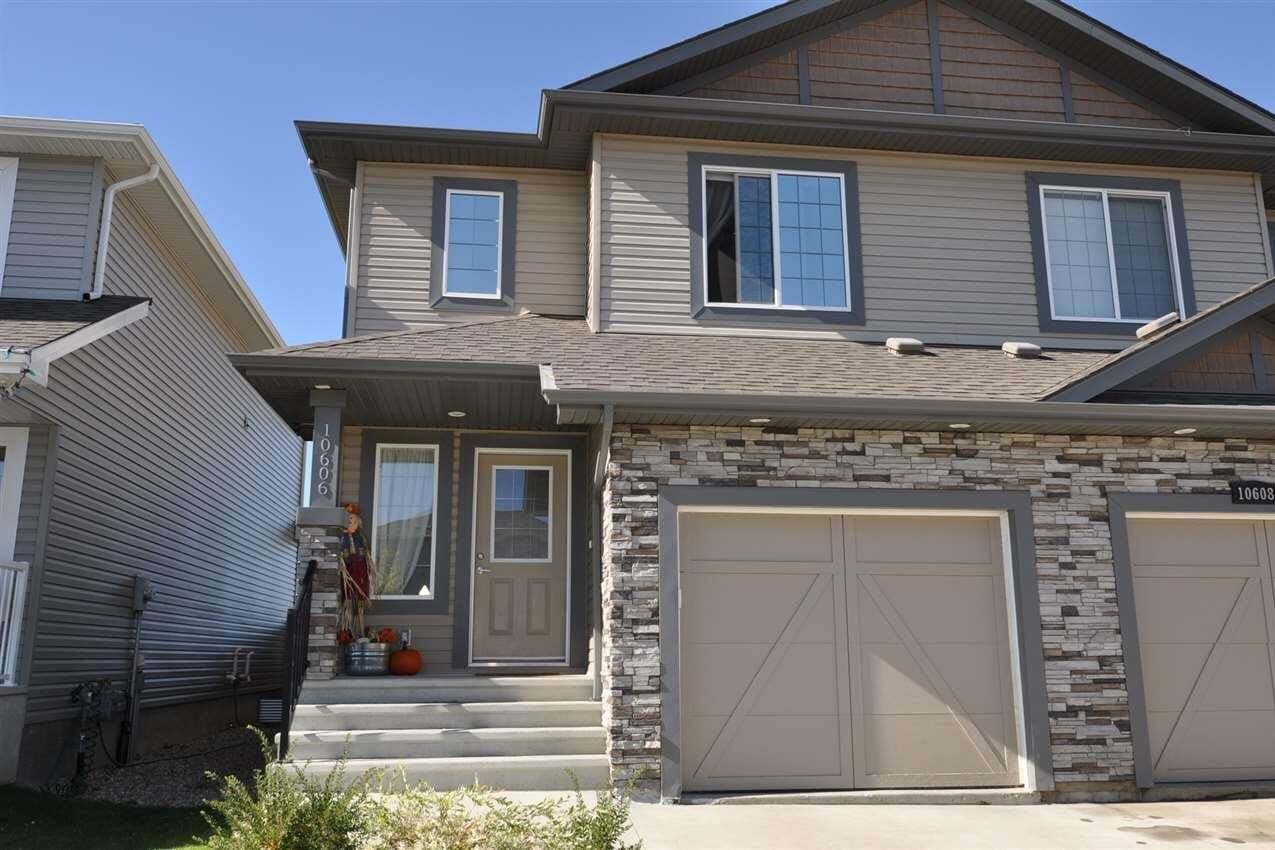 Townhouse for sale at 10606 99 St Morinville Alberta - MLS: E4215719