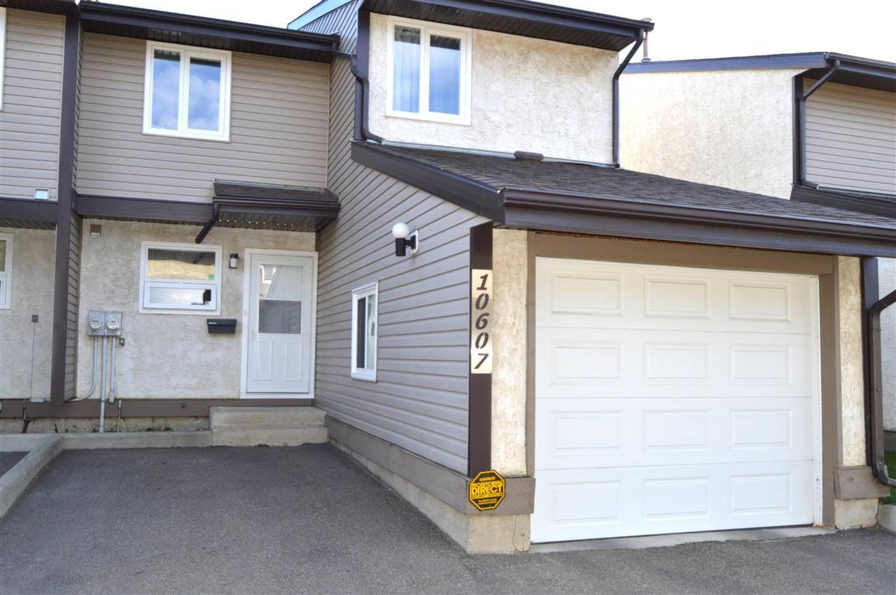 Townhouse for sale at 10607 Beaumaris Rd Nw Edmonton Alberta - MLS: E4174184