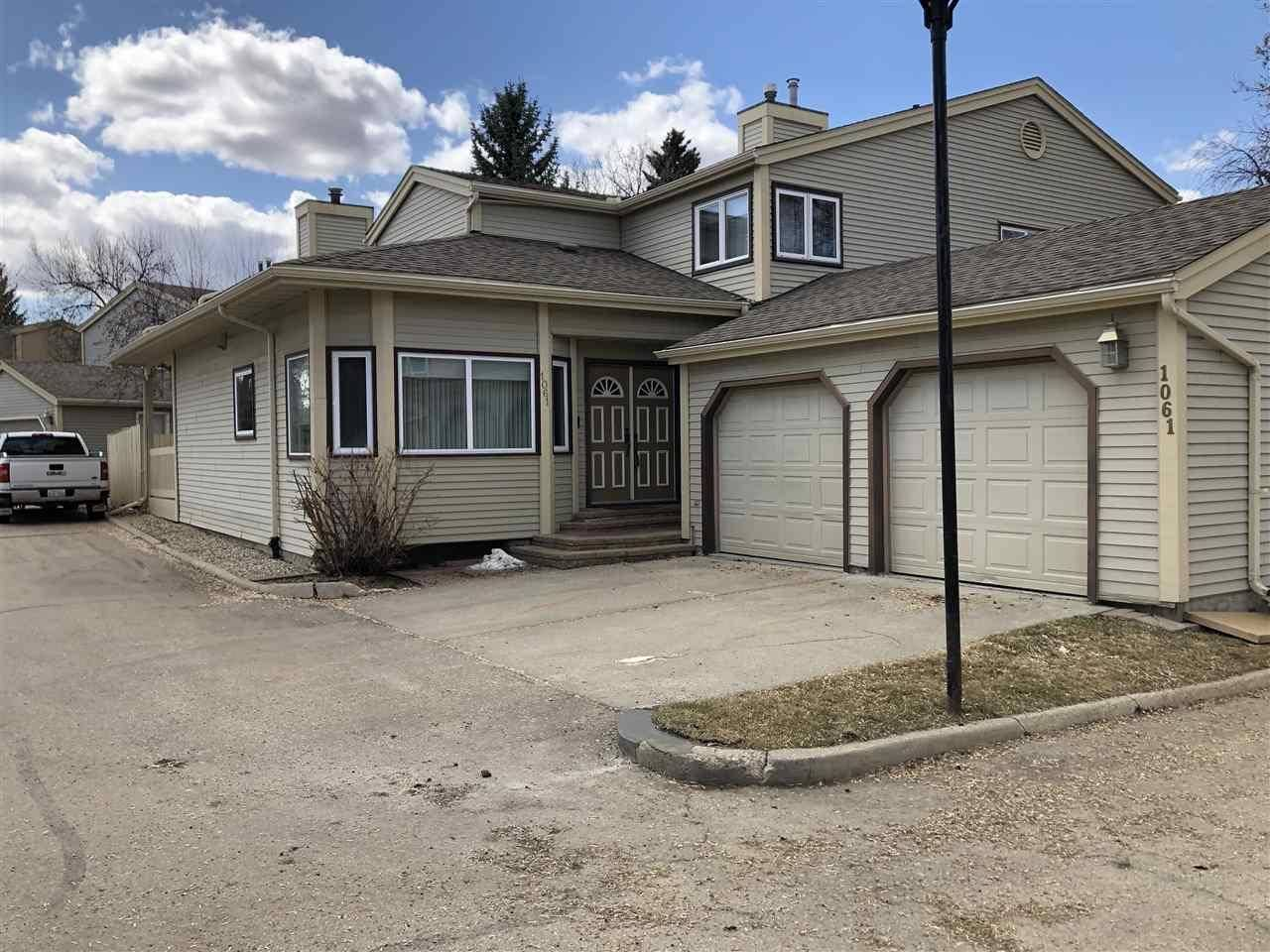 Townhouse for sale at 1061 109 St Nw Edmonton Alberta - MLS: E4187277
