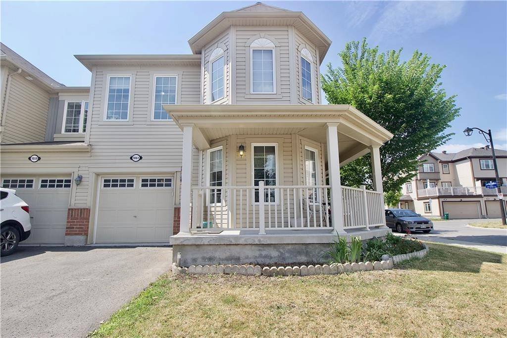 Townhouse for sale at 1061 Pampero Cres Ottawa Ontario - MLS: 1164377