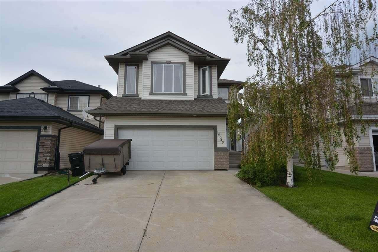 House for sale at 10640 181 Av NW Edmonton Alberta - MLS: E4196725