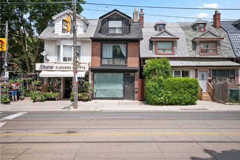 Townhouse for sale at 1066 Dundas St Toronto Ontario - MLS: C4523103
