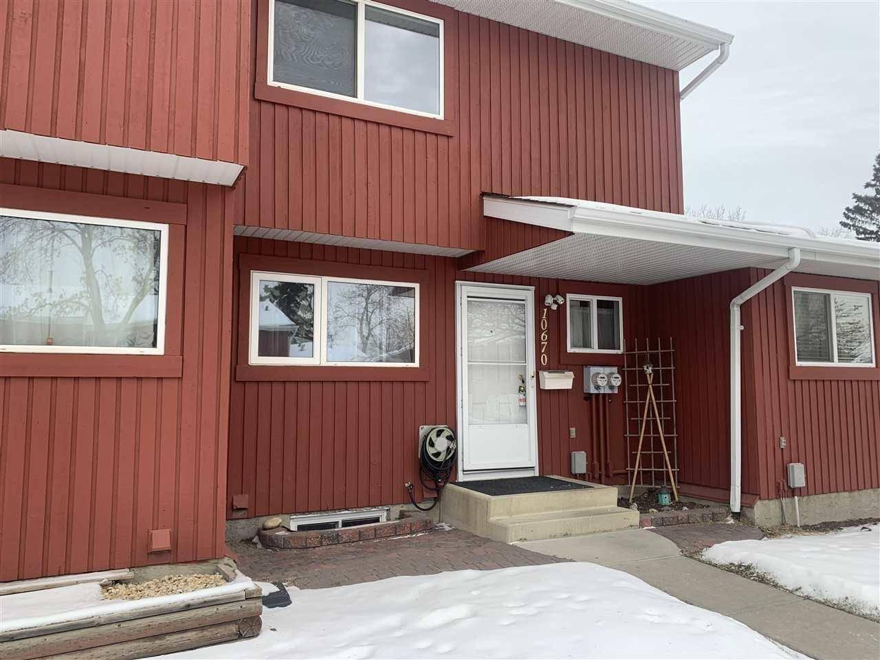 Townhouse for sale at 10670 Beaumaris Rd Nw Edmonton Alberta - MLS: E4178193