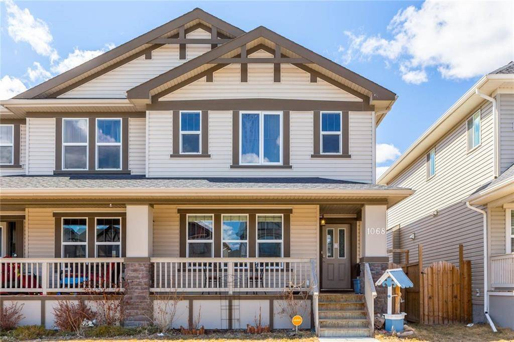 Townhouse for sale at 1068 Kings Heights Rd Kings Heights, Airdrie Alberta - MLS: C4238084