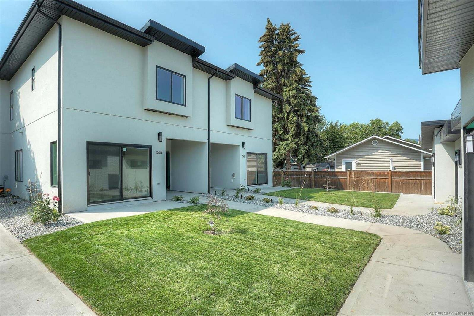 Townhouse for sale at 1068 Lawson Ave Kelowna British Columbia - MLS: 10215153