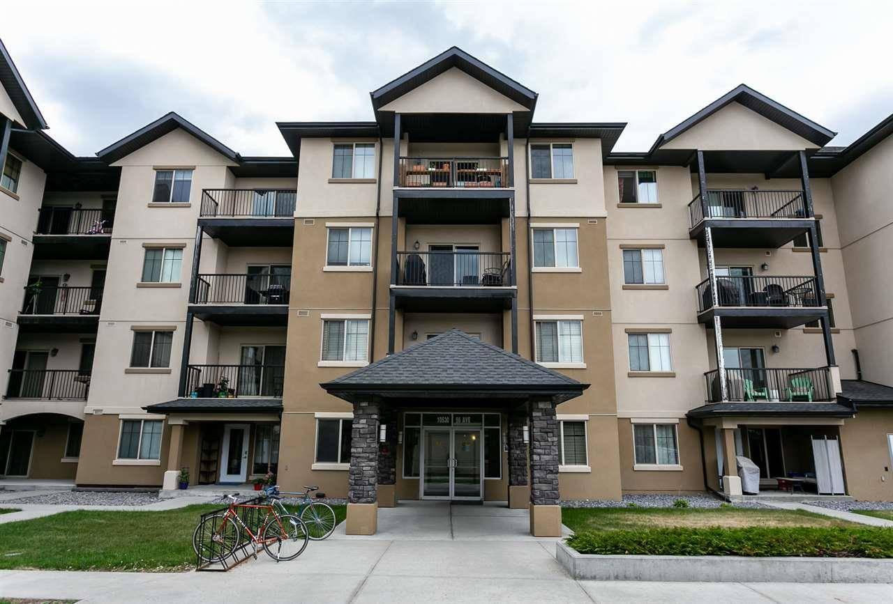 Condo for sale at 10530 56 Ave Nw Unit 107 Edmonton Alberta - MLS: E4158698