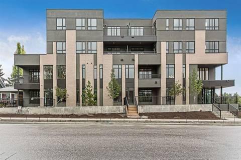 Condo for sale at 1510 30 Ave Southwest Unit 107 Calgary Alberta - MLS: C4267153