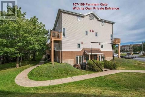 Condo for sale at 159 Farnham Gate Rd Unit 107 Halifax Nova Scotia - MLS: 201916675