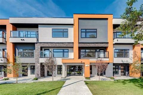 Townhouse for sale at 1632 20 Ave Northwest Unit 107 Calgary Alberta - MLS: C4244065