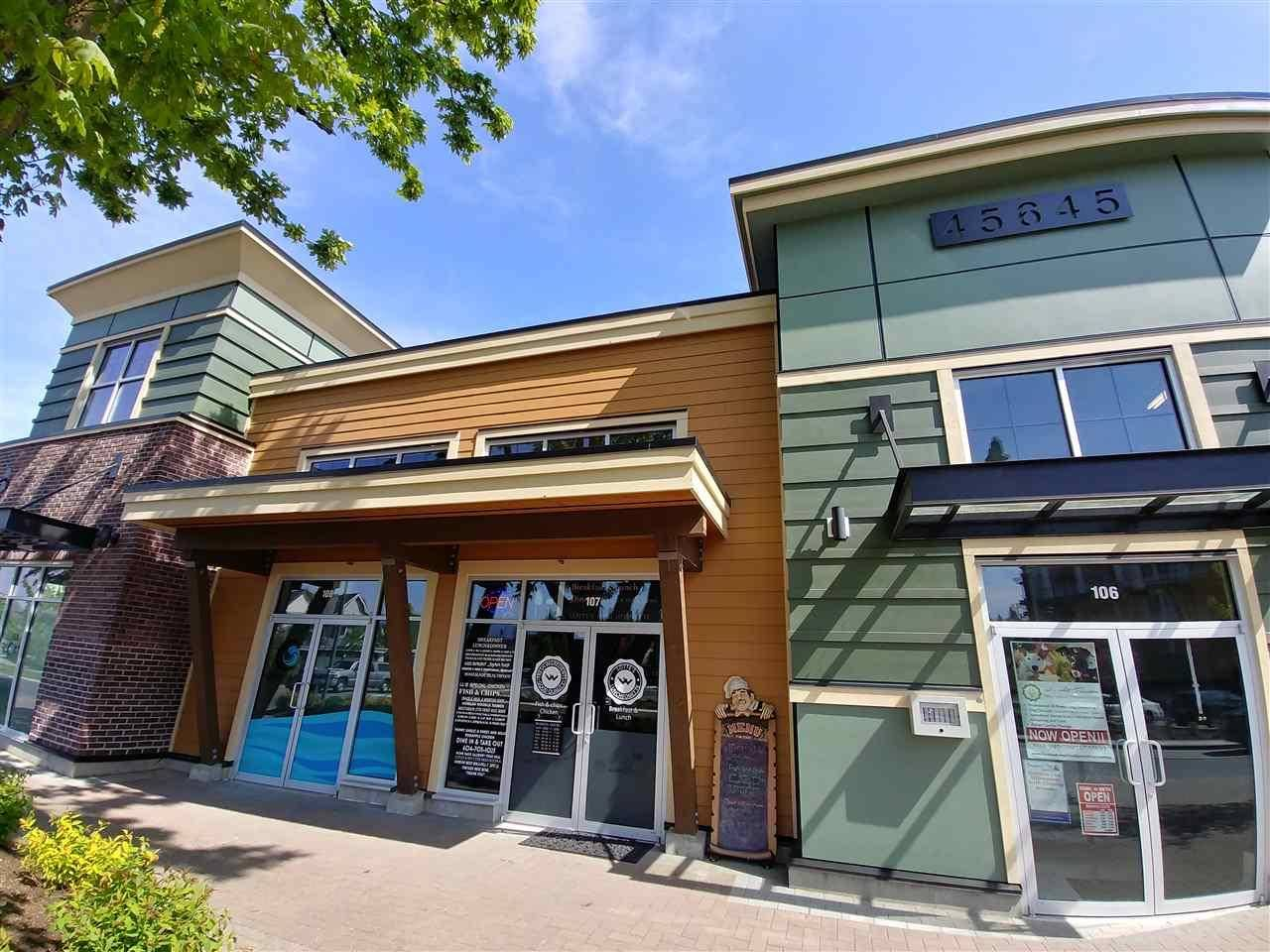 Commercial property for sale at 45645 Tamihi Wy Unit 107 Sardis British Columbia - MLS: C8025790