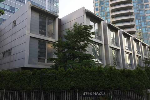 Townhouse for sale at 4798 Hazel St Unit 107 Burnaby British Columbia - MLS: R2374424