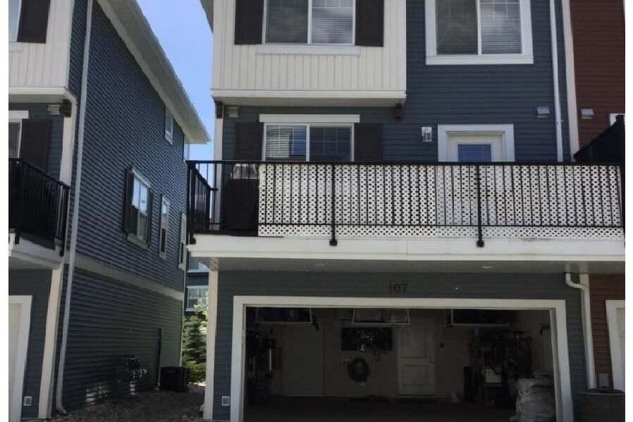 Townhouse for sale at 8315 180 Av NW Unit 107 Edmonton Alberta - MLS: E4186783
