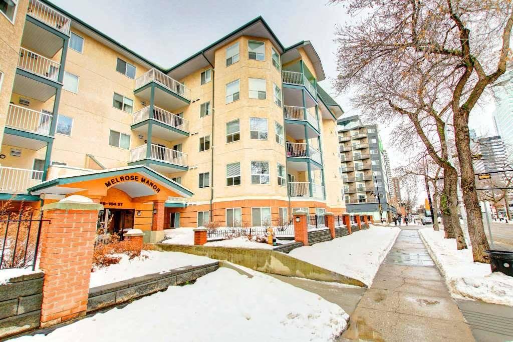 Condo for sale at 9938 104 St Nw Unit 107 Edmonton Alberta - MLS: E4186673