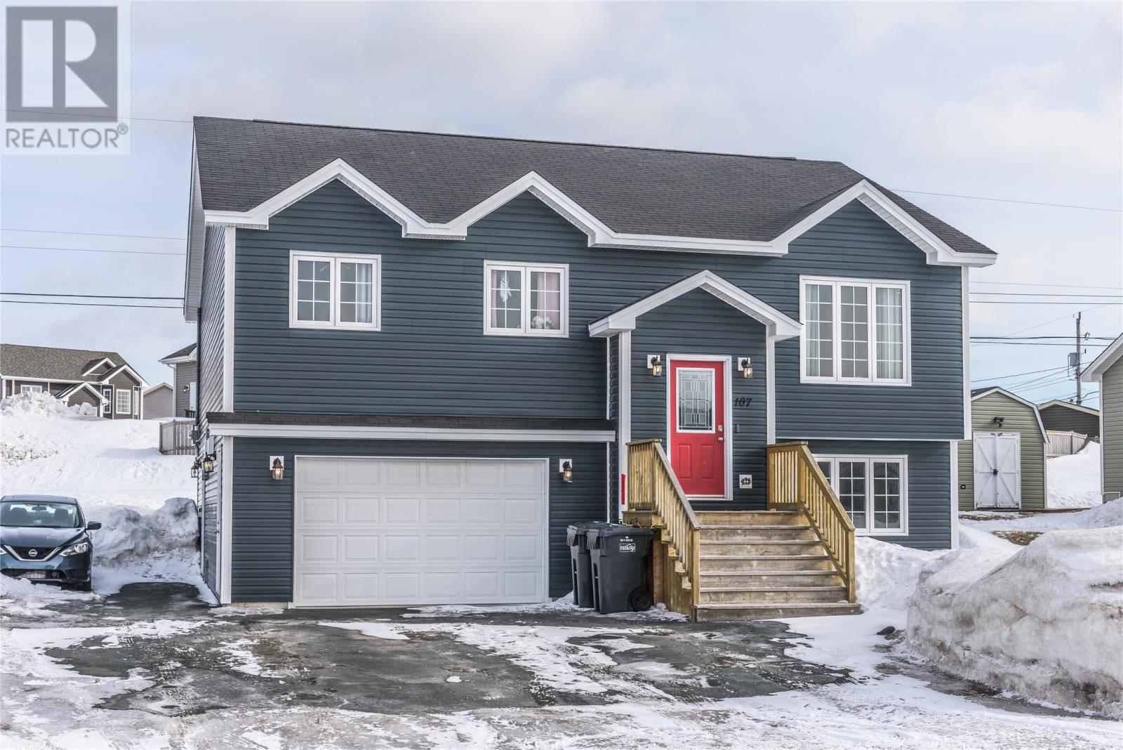 House for sale at 107 Acharya Dr Paradise Newfoundland - MLS: 1211384