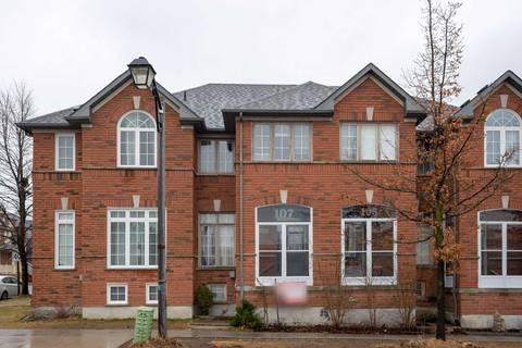 Townhouse for sale at 107 Bur Oak Ave Markham Ontario - MLS: N4421339