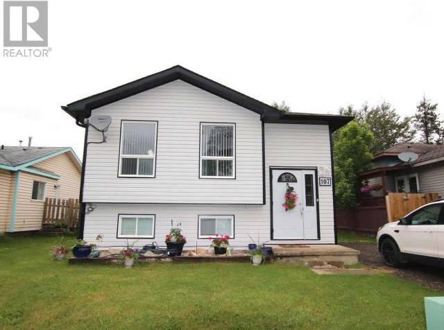 House for sale at 107 Cottonwood Ave Tumbler Ridge British Columbia - MLS: 179127