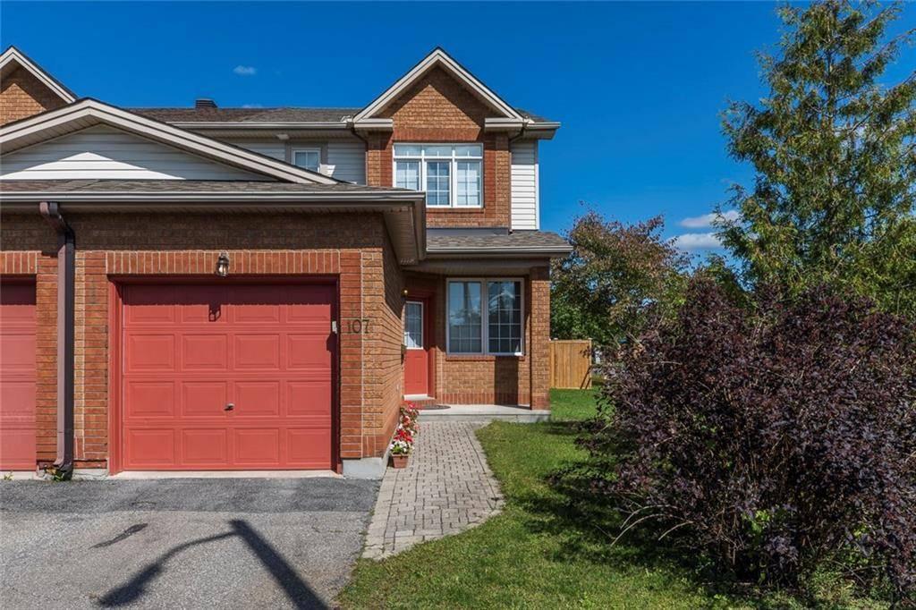 Townhouse for rent at 107 Duntroon Circ Ottawa Ontario - MLS: 1168908