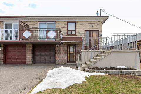 Townhouse for sale at 107 Grandravine Dr Toronto Ontario - MLS: W4721140