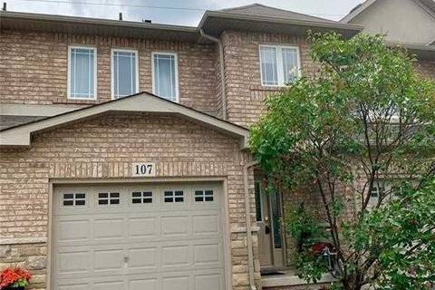 Townhouse for sale at 107 Periwinkle Dr Hamilton Ontario - MLS: X4488702