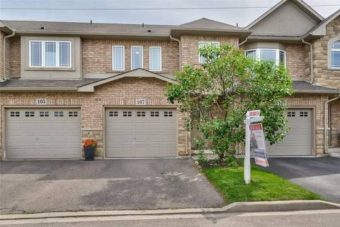 Townhouse for sale at 107 Periwinkle Dr Stoney Creek Ontario - MLS: H4056416