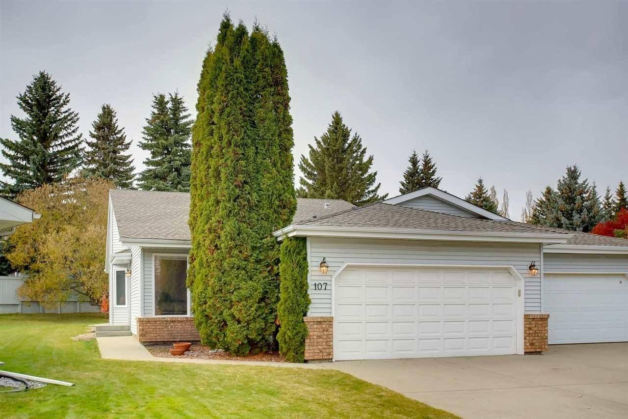Townhouse for sale at 107 Rehwinkel Rd Nw Edmonton Alberta - MLS: E4188493