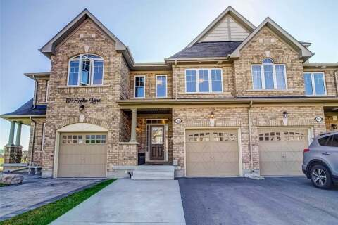 Townhouse for sale at 107 Sydie Ln New Tecumseth Ontario - MLS: N4813943