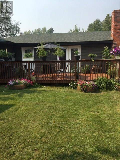 House for sale at 10703 Kruger St Hudsons Hope British Columbia - MLS: R2418651
