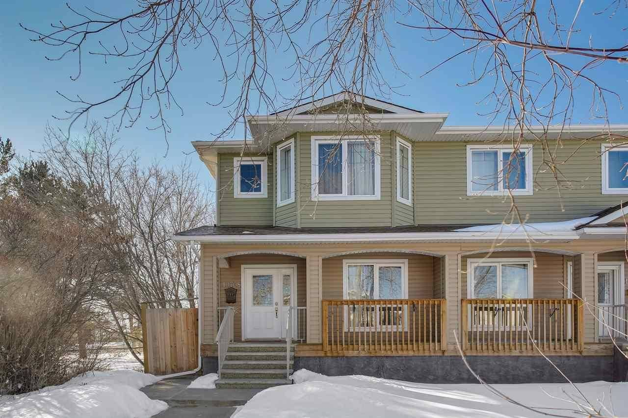 Townhouse for sale at 10708 151 St Nw Edmonton Alberta - MLS: E4192119