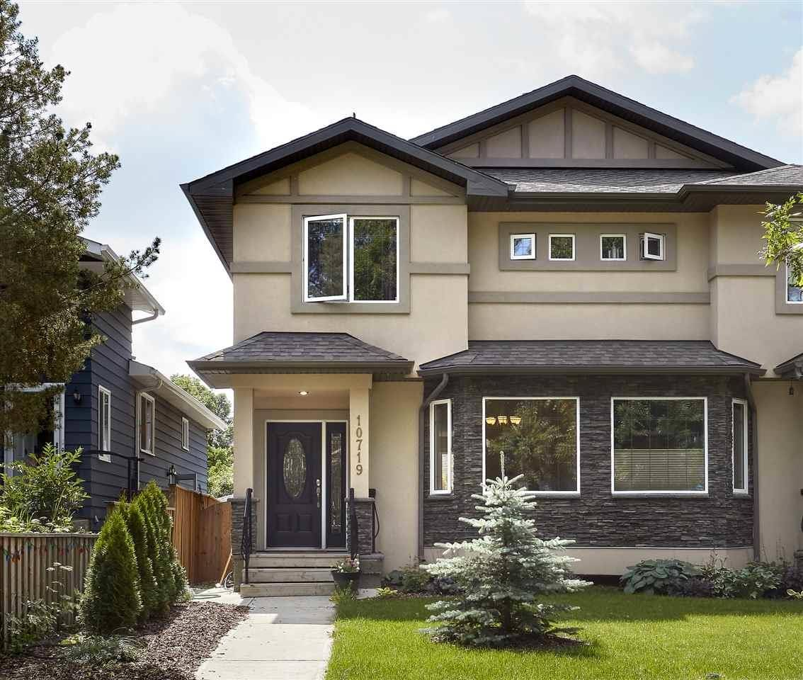 Townhouse for sale at 10719 72 Ave Nw Edmonton Alberta - MLS: E4166105