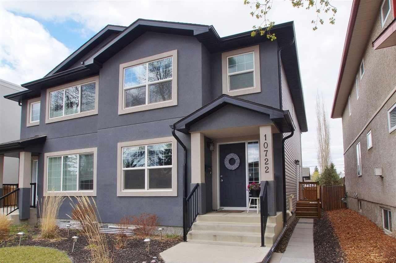 Townhouse for sale at 10722 72 Av NW Edmonton Alberta - MLS: E4197406