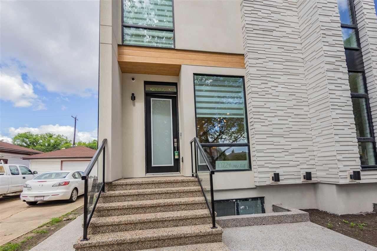 Townhouse for sale at 10724 University Av NW Edmonton Alberta - MLS: E4207576