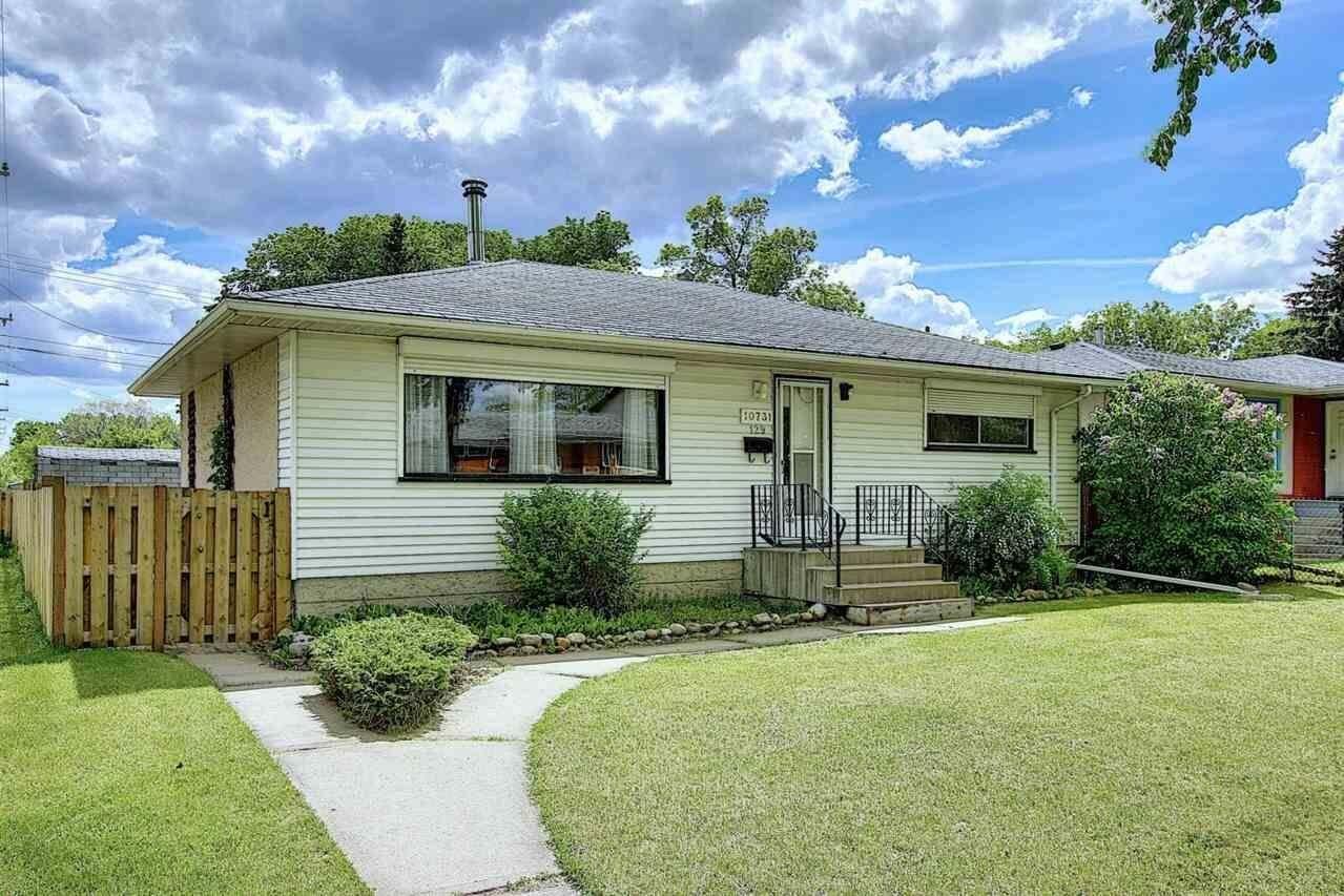 House for sale at 10731 129 Av NW Edmonton Alberta - MLS: E4201039