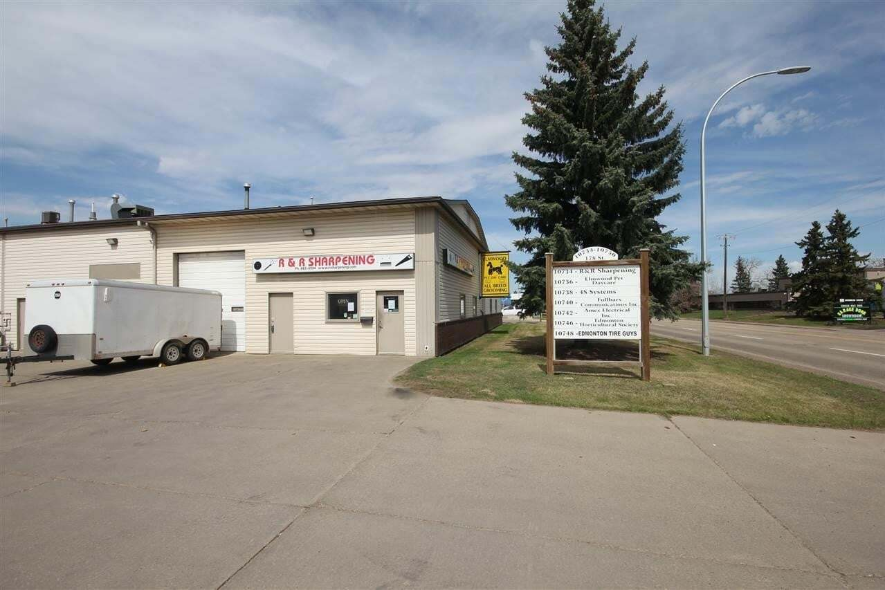 Commercial property for sale at 10734 178 St NW Edmonton Alberta - MLS: E4196684