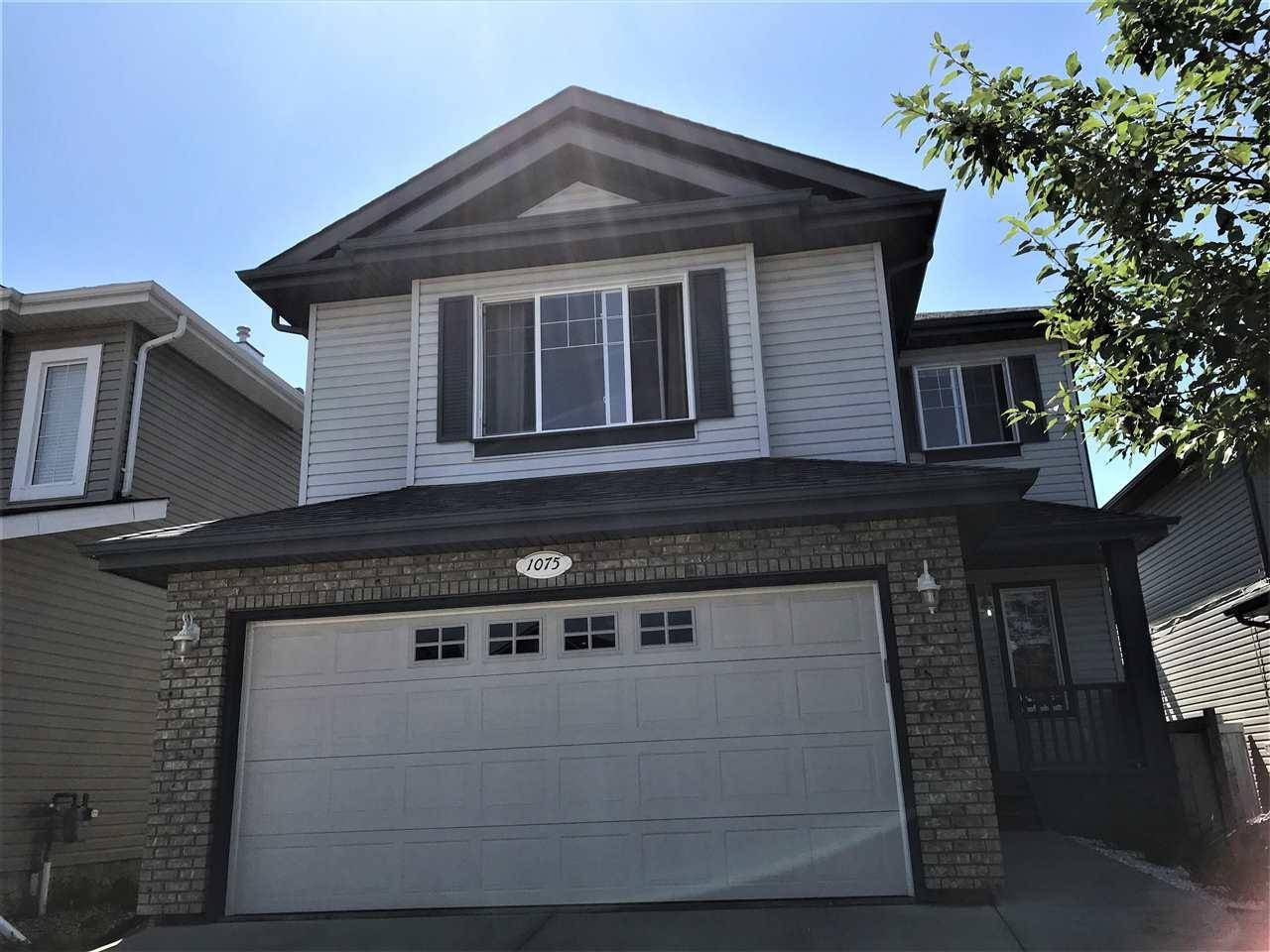 House for sale at 1075 Leger Blvd Nw Edmonton Alberta - MLS: E4167107