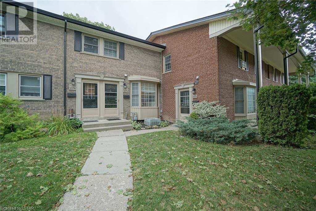 House for sale at 1076 Guildwood Blvd London Ontario - MLS: 278150
