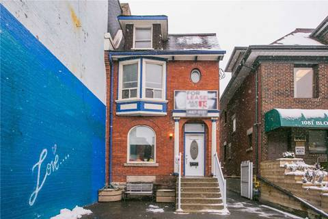 Commercial property for lease at 1079 Bloor St Toronto Ontario - MLS: C4704449
