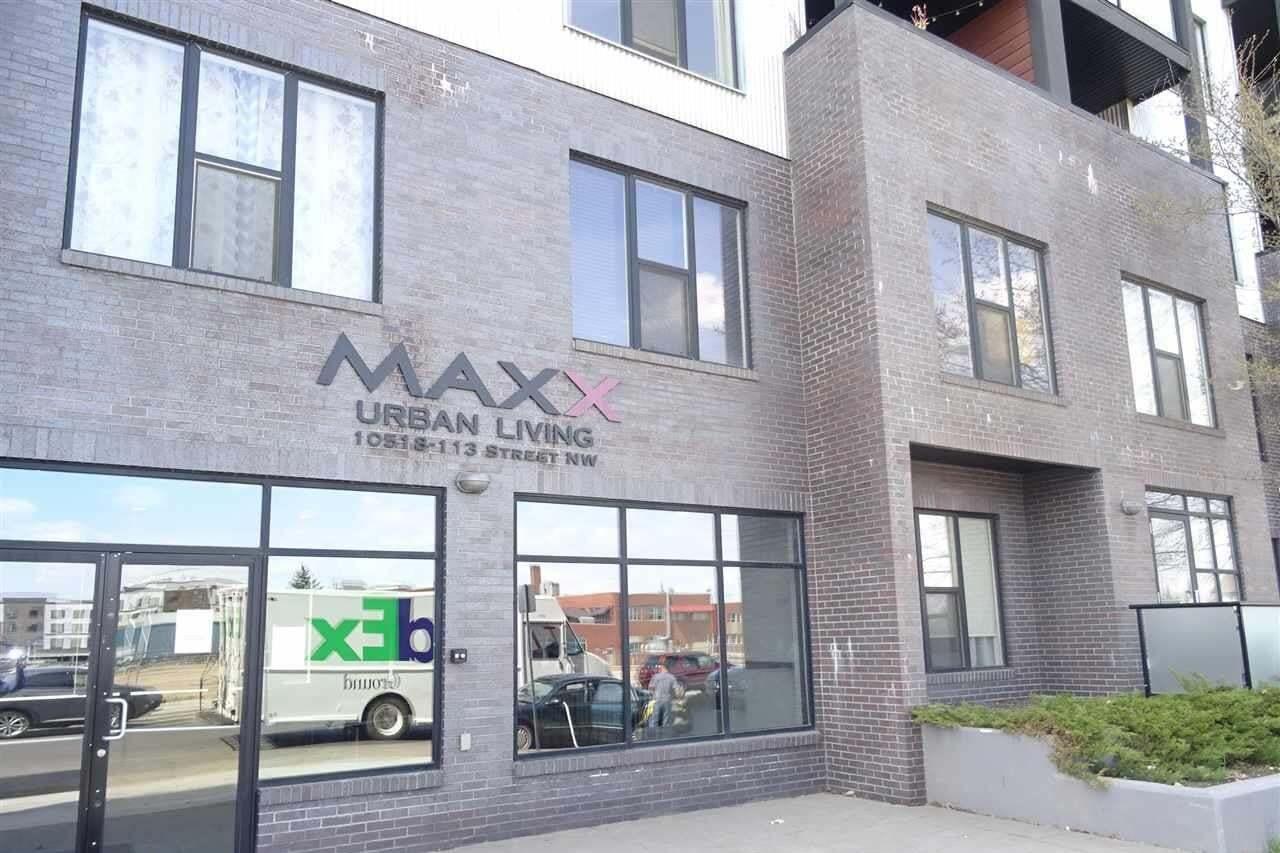 Condo for sale at 10518 113 St NW Unit 108 Edmonton Alberta - MLS: E4214994