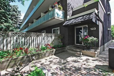 Condo for sale at 123 Woodbine Ave Unit 108 Toronto Ontario - MLS: E4637438